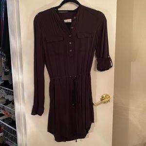 Lou and Grey XS Black Tunic Dress